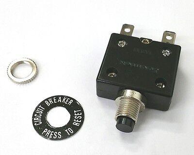 New 7 Amp Pushbutton Circuit Breaker Joemex Pe7407 7a 50v Dc 125v Ac