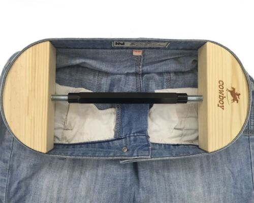 "Pant Stretcher for Jeans with Aerial Aluminium Alloy Buckle Stretch 30"" to 59"""
