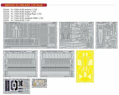 Eduard Big Ed 33105 1/32 Focke-Wulf Fw-190A-8/R2 Revell