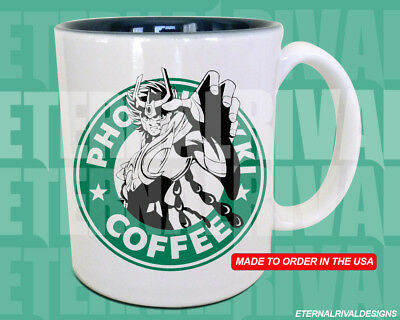 Saint Seiya Phoenix Ikki Starbucks Anime Manga Japanese Insipred  Geek Nerd Mug segunda mano  Embacar hacia Argentina
