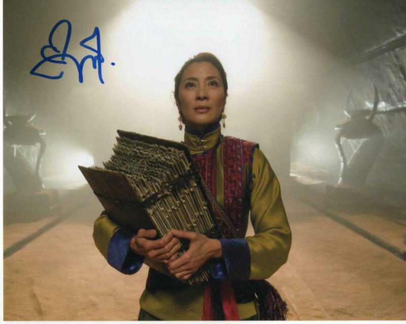 MICHELLE YEOH SIGNED AUTOGRAPH 8X10 PHOTO - BOND, CROUCHING DRAGON HIDDEN TIGER