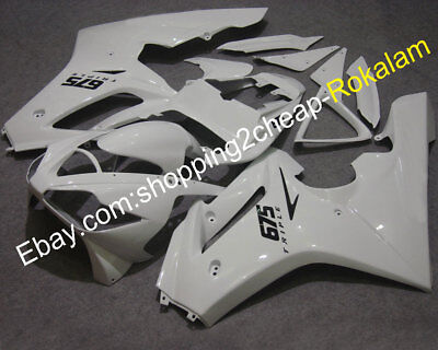 Offroad Fairing For TRIUMPH Daytona 675 2006 2007 2008 Gloss White ABS Body Kits