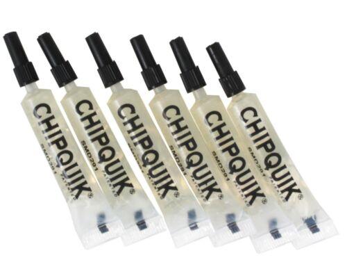 Chip Quik SMD291ST2CC6 2cc No-Clean Tack Flux Squeeze Tubes