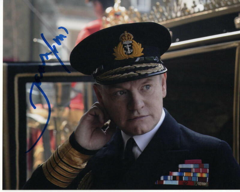 JARED HARRIS - SIGNED AUTOGRAPHED 8x10 PHOTO - THE CROWN KING GEORGE, MAD MEN 2