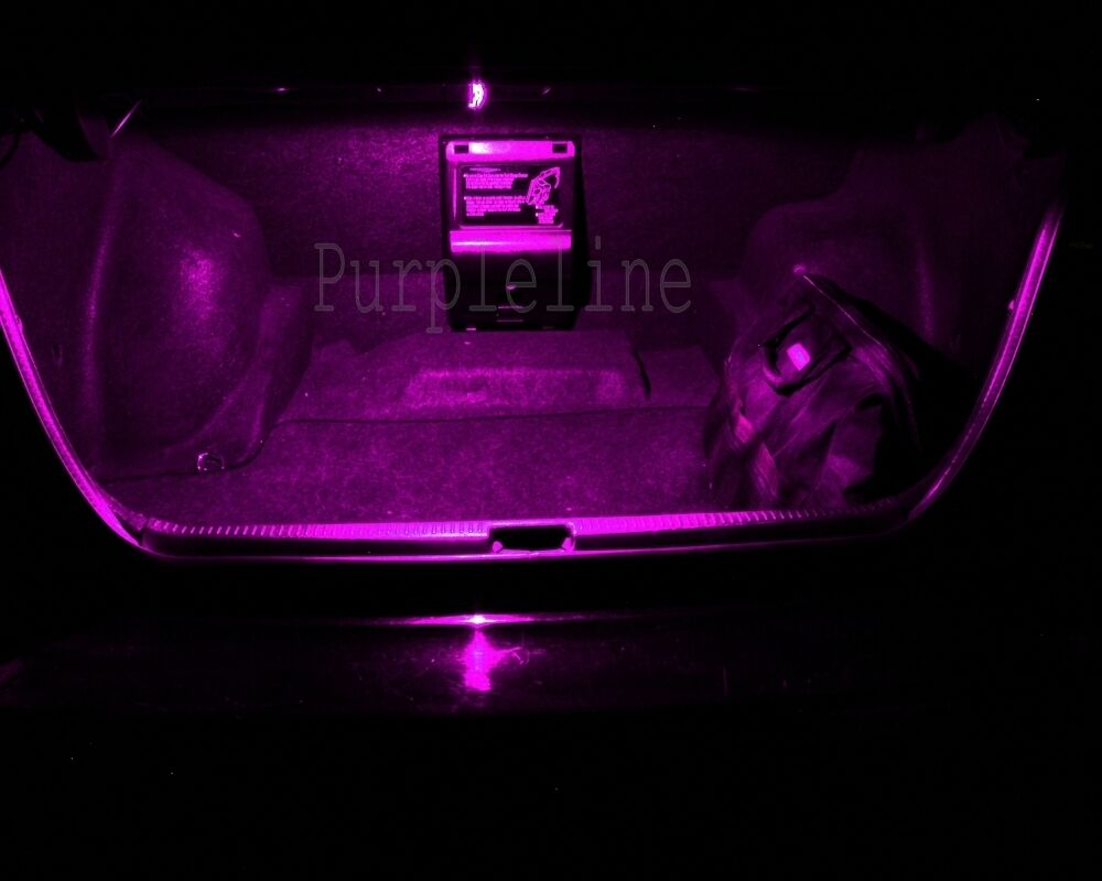 17 x Pink LED Interior Light Package For 1998-2005 Mercedes ML Class W163 TOOL