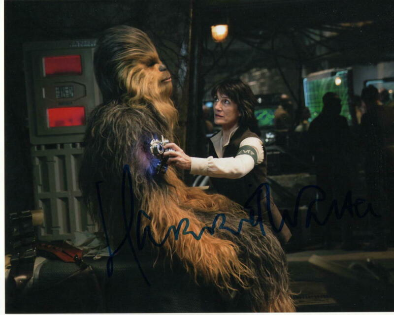 HARRIET WALTER SIGNED AUTOGRAPH 8X10 - STAR WARS THE FORCE AWAKENS, DR KALONIA