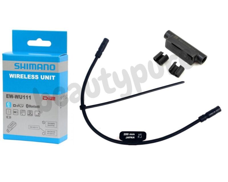 Shimano EW-WU111 DI2 D-Fly ANT+Bluetooth Wireless Unit w//200mm Electric Wire