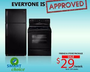 Brand New Frigidaire Fridge and Stove Package - Payment Plan