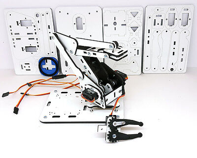 ArmUno 2.0 Robotic Arm DIY Kit MeArm and Arduino Compatible MeCon App Soft Jaws