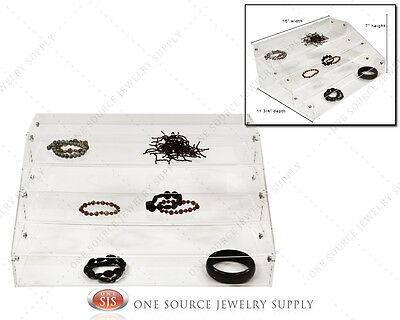 Jewelry Makeup Organizer Acrylic Organizer Display Showcase Countertop Display