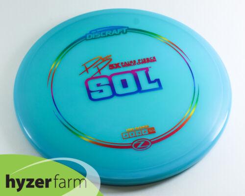 Discraft PIERCE 5X Z SOL *pick weight & color* Hyzer Farm disc golf midrange