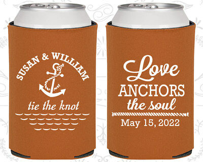 Anchor Wedding Favors, Nautical Wedding Favors, Cheap Can Coolers (98)