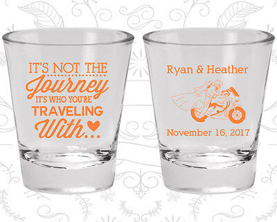 Wedding Shot Glasses Personalized Shot Glass (455) Motorcycle Wedding Favors](Personalized Shot Glass Wedding Favors)