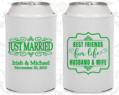 Personalized Wedding Koozies Custom Koozie Gift (528) Wedding Gift - Personalized Koozie