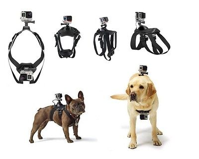 Fetch Dog Harness Chest Shoulder Strap Belt Mount for GoPro hero 6/5/4/3+/3/2/1