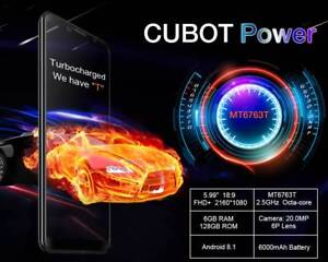 Cubot Power 6000mAh 5.99 4G Smartphone 6GB 128GB Android 8.1 Oc Doveton Casey Area Preview