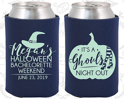 Bachelorette Party Koozies Favors Ideas (60077) Halloween its a Ghouls Night Out - Halloween Night Out Ideas