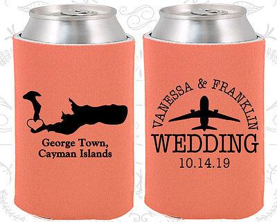 Wedding Favor Koozies Cheap Beer Can Koozie Ideas (196) Cayman Island Wedding