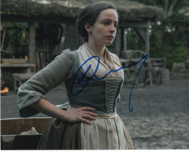 LAURA DONNELLY SIGNED AUTOGRAPH 8X10 PHOTO - OUTLANDER, THE FALL, TOLKIEN