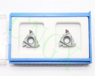 2pcs New Cbn 16irag60 Cbn Diamond Cnc Blade Insert High Quality