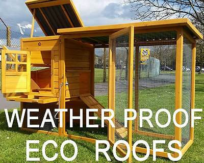 ECO CHICKEN HOUSE COOP RUN HEN HOUSE POULTRY COOPS RABBIT HUTCH PLASTIC