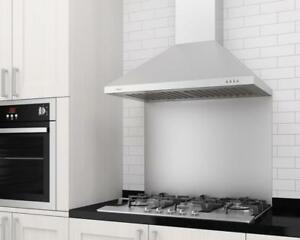 "LIQUIDATION PRICING - 30"" ANCONA RANGE HOODS - LED LIGHTS, BAFFLE FILTERS, 620+cfm - 50% OFF RETAIL PRICES"
