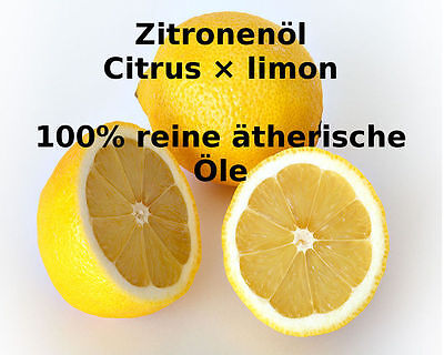 """Zitronenöl naturrein 50 ml 100% ätherisches Öle von """"Mäc Spice"""""""