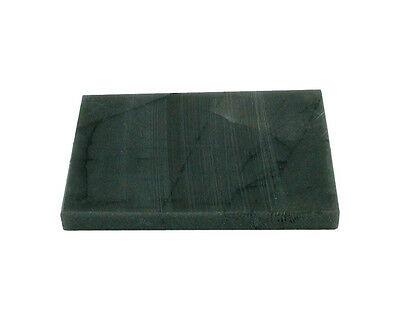 Prüfstein 60x40x10mm Goldprüfstein Naturstein glatt/schwarz zum Prüfen von Gold