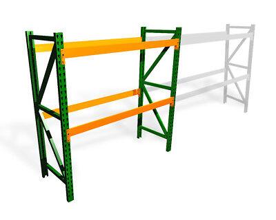 Pallet Rack Starter Kit - Teardrop - 48d X 96w X 96h