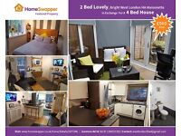 My 2 bed West London For Your 3 or 4 Bed