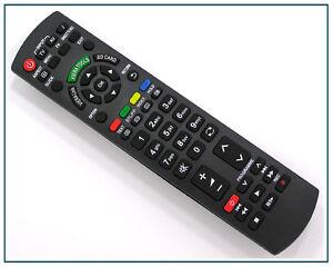 Ersatz Fernbedienung für Panasonic N2QAYB000487 Fernseher TV Remote Control 045