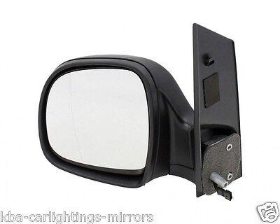 Mercedes Vito W639 2003 2010 Door Wing Mirror Manual Black NS Passenger Left