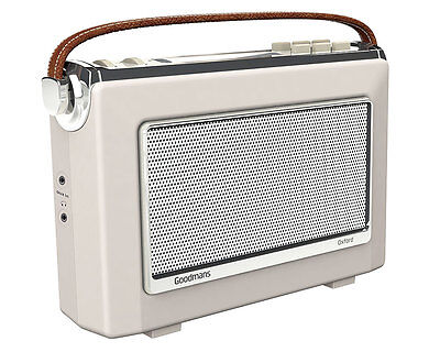 Goodmans Vintage OXFORD DAB+ Digital FM RDS Radio in Cream