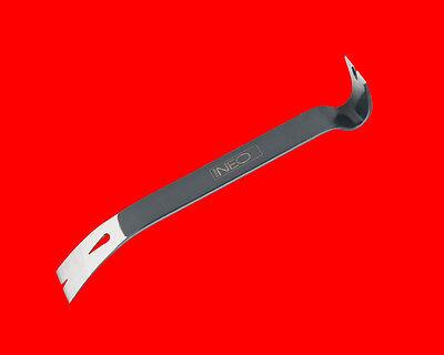 Flache Nagelzieher Nageleisen Nagelklaue Hebeleisen Brecheisen Kuhfuß 380mm N030