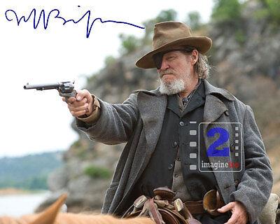 """Jeff Bridges 10""""x 8"""" Signed Color PHOTO REPRINT"""
