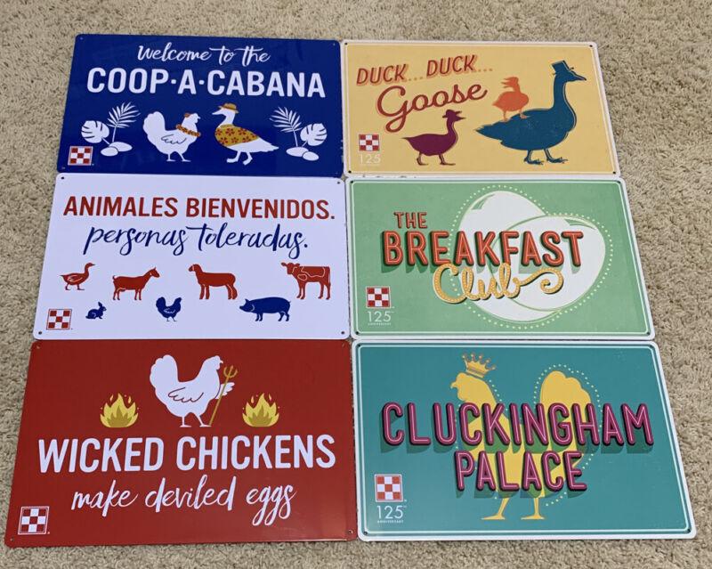 Purina Chicken Coop Signs (Lot Of 6) Chicken Coop Decor