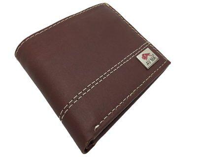 AVIMA BEST Premium Wallets Made of Genuine Leather for Men - (Best Leather For Wallets)