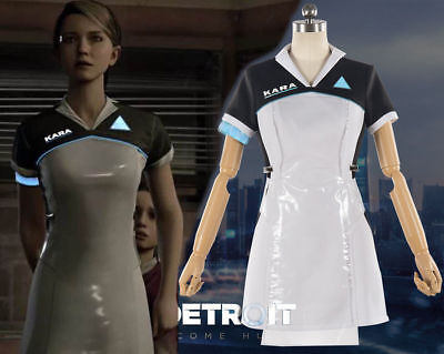 Detroit: Become Human AX400 Android Kara Female Dress Uniform Cosplay