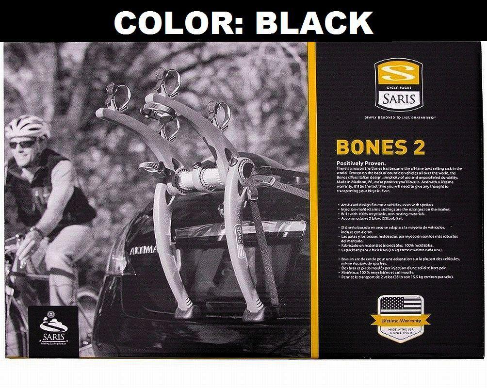 Saris Bones 805  Trunk Mount Rack