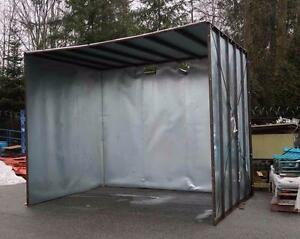 Paint Booth 12.5 ft length by 10 ft height