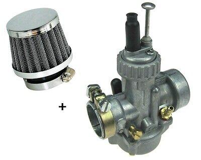 SET: 20mm BING Vergaser + 42'er Sport Luftfilter für Kreidler Flory RMC - M-6192