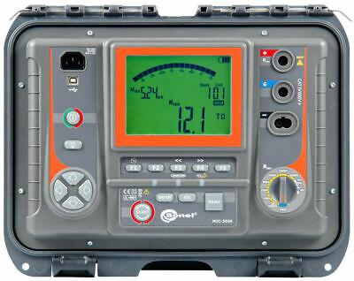 Sonel Mic-5005 5kv Insulation Tester Resistance Meter Megohmmeter Megger 15t