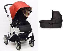 Mamas & Papas Pixo Stroller & Carrycot - Red Balloons