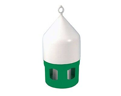 Dome Fountain Drinker plus Ring for Racing Pigeons, Poultry etc 5 litre