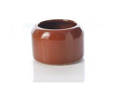 Small Glazed Pot Drinker for Racing Pigeons, Poultry etc