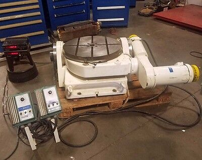 Walters 24 Inch Motorized Tilting Rotary Table Inv.36141