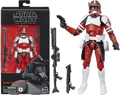 Star Wars The Clone Wars Black Series 6 Inch Action Figure - Clone Commander Fox