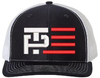 Trump Pence Hat  Make America Great Again  Republican  112 Tp Flag Navy Wht Mesh