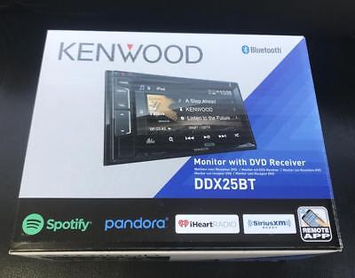Kenwood DDX25BT 2-DIN DVD/USB CD Player Android iPhone App Pandora Bluetooth New