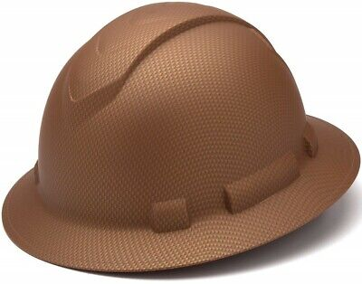 Stylish Full Brim Hard Hat Construction Work Safety Helmet Lightweight Ridgeline